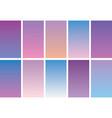 blue-gradient-color-combination vector image