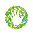 ecology icon design vector image