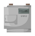 gas meter iconcartoon icon isolated vector image vector image
