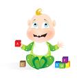 Happy Child vector image