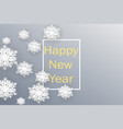 happy new year 2019 christmas banner with vector image vector image
