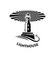 image of the lighthouse vector image