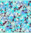 mosaic triangle pattern background - abstract vector image vector image