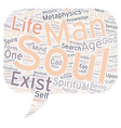 mystery soul part text background wordcloud vector image vector image