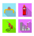 oil and gas symbol vector image