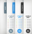 Pricing Labels vector image vector image