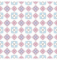 simple flat flower pattern vector image vector image