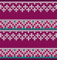 Traditional fair knitted pattern christmas and