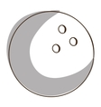 bowling ball icon image vector image vector image