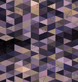 Geometric triangle abstract background vector image vector image