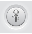 Global Support Icon vector image