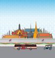 Grand Palace Bangkok vector image