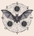 hand-drawn mandala on theme coronavirus vector image