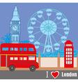 London Street vector image