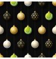 merry christmas basketball seamless horizontal vector image vector image