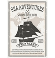 Nautical Grey Poster vector image