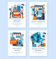 online shop web banners internet store sale vector image