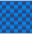 3d jigsaw tile seamless pattern blue 001 vector image vector image