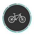 Bicycle computer symbol vector image vector image