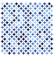 blue star texture vector image vector image