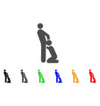 oral sex gays icon vector image vector image