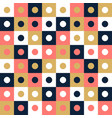 seamless pattern background design modern square vector image vector image
