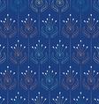 Seamless pattern design flowe vector image