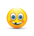 Toothless emoji vector image