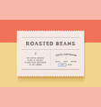 vintage label set graphic modern vintage label vector image