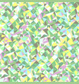 abstract geometrical triangular mosaic pattern vector image vector image