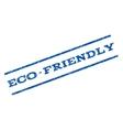 Eco-Friendly Watermark Stamp vector image