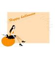 funky halloween vector image