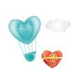 happy valentines day heart symbols set vector image vector image
