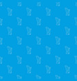 harp pattern seamless blue vector image vector image