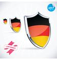 I Love Germany Flag vector image