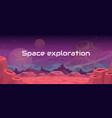 space exploration fantasy vector image