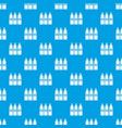 three tubes with paint pattern seamless blue vector image vector image