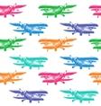 Plane Sketch for Design vector image
