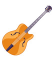 guitar musical instrument for vector image