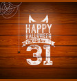 happy halloween banner with flying vector image