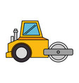 planer construction isolated icon vector image vector image