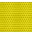 Yellow Pattern Hexagon Mosaic vector image