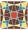 retro geometric pattern 1 vector image