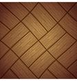 Wooden floor vector image