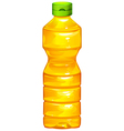 A bottle of cooking oil vector image vector image