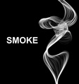 abstract smoke background vector image vector image
