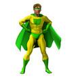 amazing superhero vector image vector image