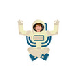 astronaut yogi space yoga space man zen and vector image