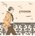 fashion style6 vector image vector image