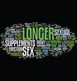 longer sex text background word cloud concept vector image vector image